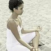 Meditation Art Print by Joana Kruse