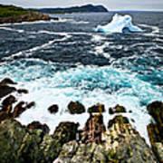 Melting Iceberg Art Print