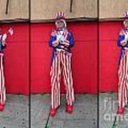 Mermaid Parade Collage 2011 Coney Island Art Print