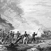 Mexican War: Palo Alto Art Print
