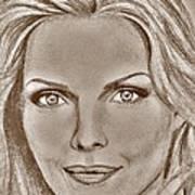 Michelle Pfeiffer In 2010 Art Print by J McCombie