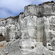 Minoan Eruption Deposits, Mavromatis Art Print