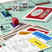 Monopoly Board Game Art Print