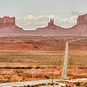 Monument Valley Art Print
