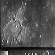 Moon: Ranger 7, 1964 Art Print