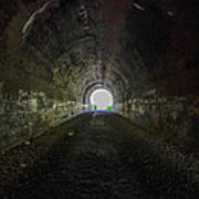 Moonville Tunnel  Art Print