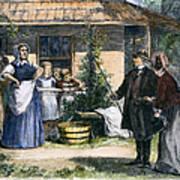 Mormon Wives, 1875 Art Print