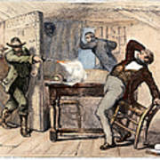 Murder Of Smith, 1844 Art Print