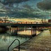 Napanee Harbour  Art Print