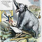 Nast: Tweed Cartoon, 1875 Art Print by Granger