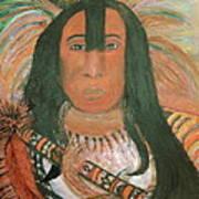 Native American Chief Art Print