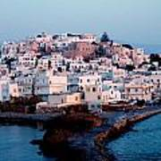 Naxos Island Greece Art Print