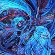 Neon Abstract Fx  Art Print