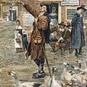 New England: Quaker, 1660 Art Print by Granger