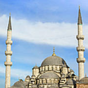 New Mosque In Istanbul Art Print by Artur Bogacki