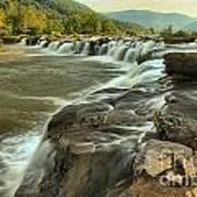 New River Waterfall Art Print