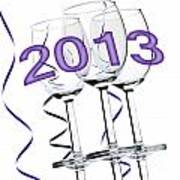 New Year 2013 Art Print