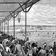New York: Baseball, 1886 Art Print