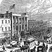 New York: The Bowery, 1871 Art Print