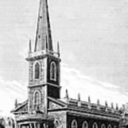 New York: Trinity Church Art Print