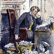 Newspaper Editor, 1880 Art Print
