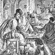 Nicaea Council, 325 A.d Art Print