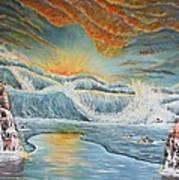 Ocean's Three Art Print