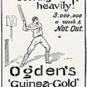 Ogdens Cigarettes, 1897 Art Print