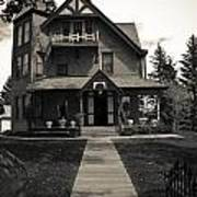 Old House Art Print by Darren Langlois