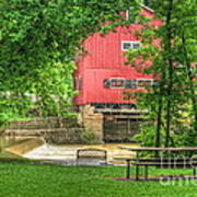 Old Indian Mill Art Print