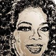 Oprah Winfrey In 2007 Art Print