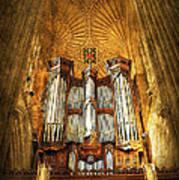 Organ Art Print