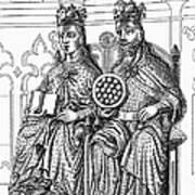 Otto I (912-973) Art Print