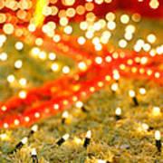 Outdoor Christmas Decorations Art Print