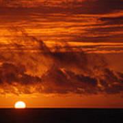 Pacific Sunset Art Print