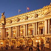 Palais Garnier Art Print