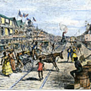 Panama Railway, 1888 Print by Granger