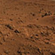 Panoramic View Of Mars Art Print