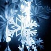 Paper Snowflake Art Print