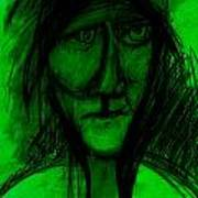 Pastel Man  9 Art Print