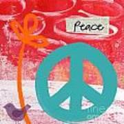 Peace Art Print by Linda Woods