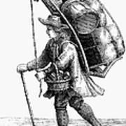 Peddler, 18th Century Art Print