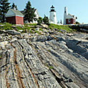 Pemaquid Point Lighthouse Art Print
