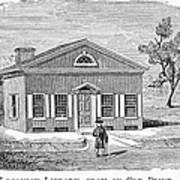 Philadelphia: Library Art Print