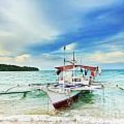 Philippine Boat Art Print
