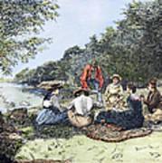 Picnic, 1885 Art Print