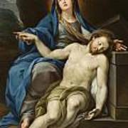 Pieta Art Print by Italian School