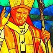 Pope John Paul 11 Art Print