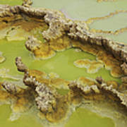 Potassium Salt Deposits, Dallol Art Print