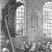 Preacher, 19th Century Art Print
